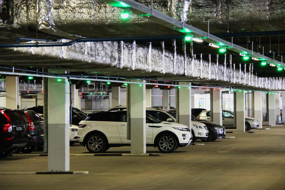 система поиска свободного паркоместа