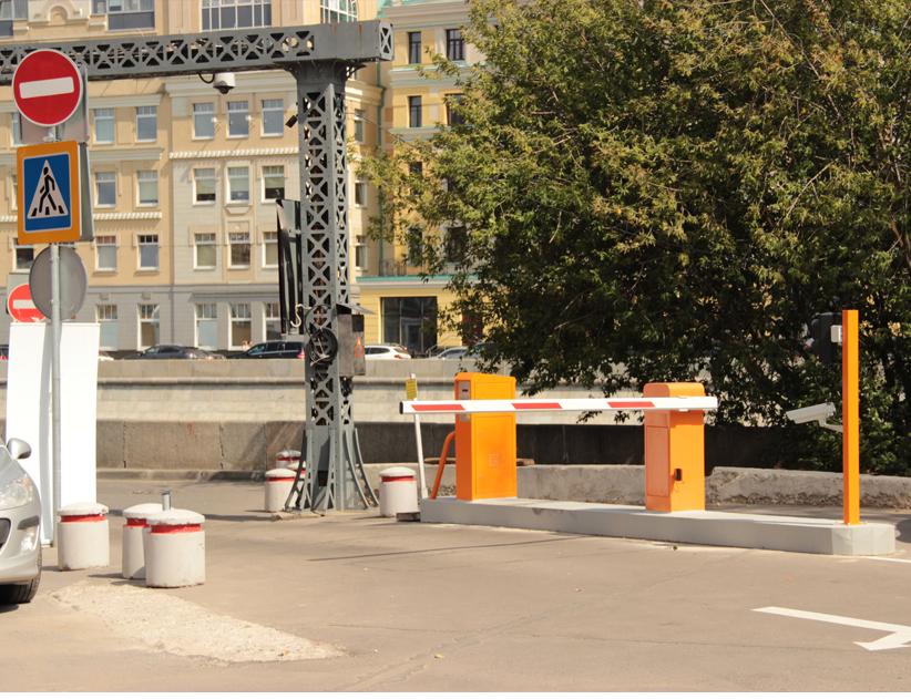 """Парковочное оборудование VECTOR_AP на фабрике """"Красный октябрь"""""""